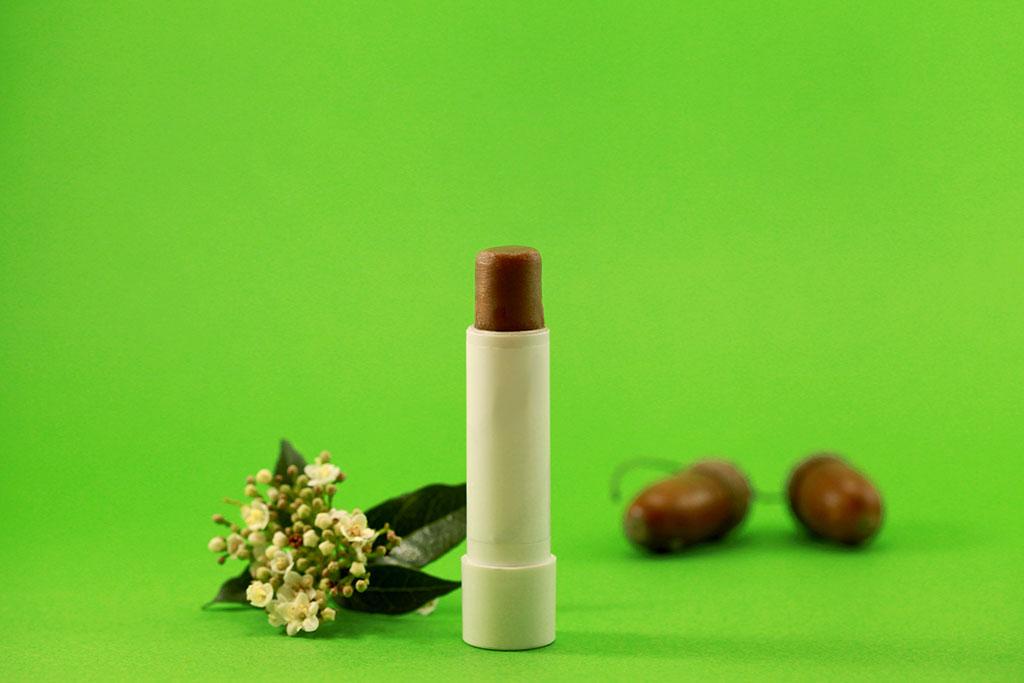 Baume à lèvres maison gourmand au chocolat