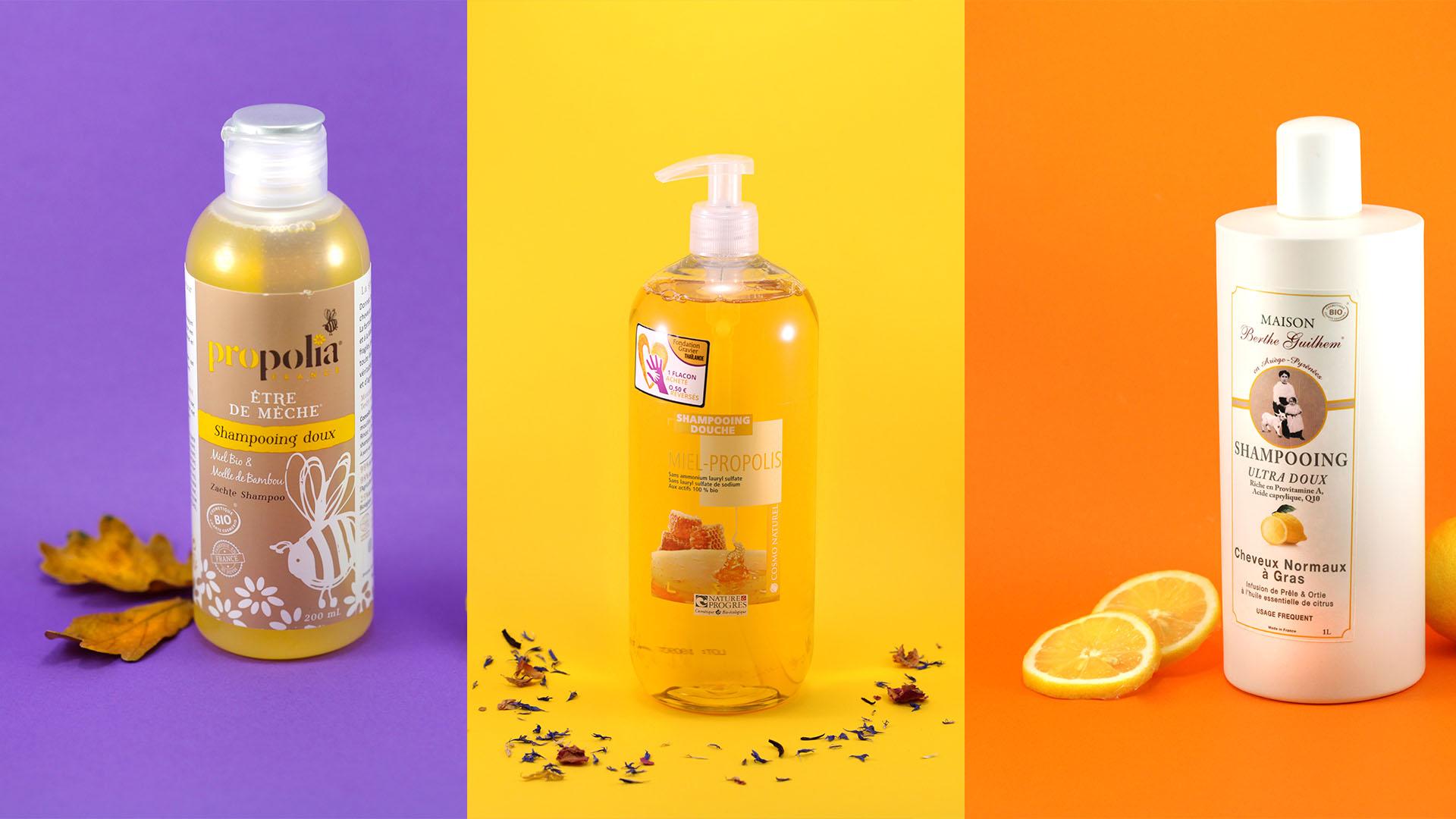 Trois shampoings naturels pour de beaux cheveux au naturel