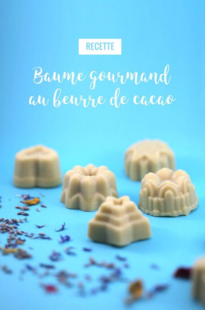 Baume gourmand pour le corps au beurre de cacao