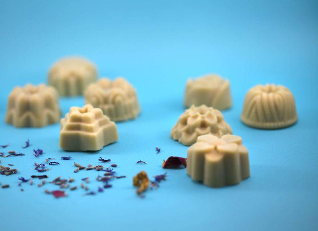 baume gourmand solide au beurre de cacao