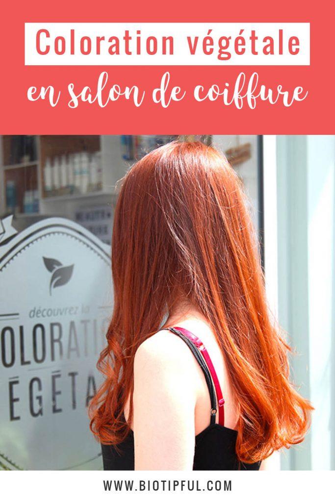 Coloration végétale en salon de coiffure : mon avis