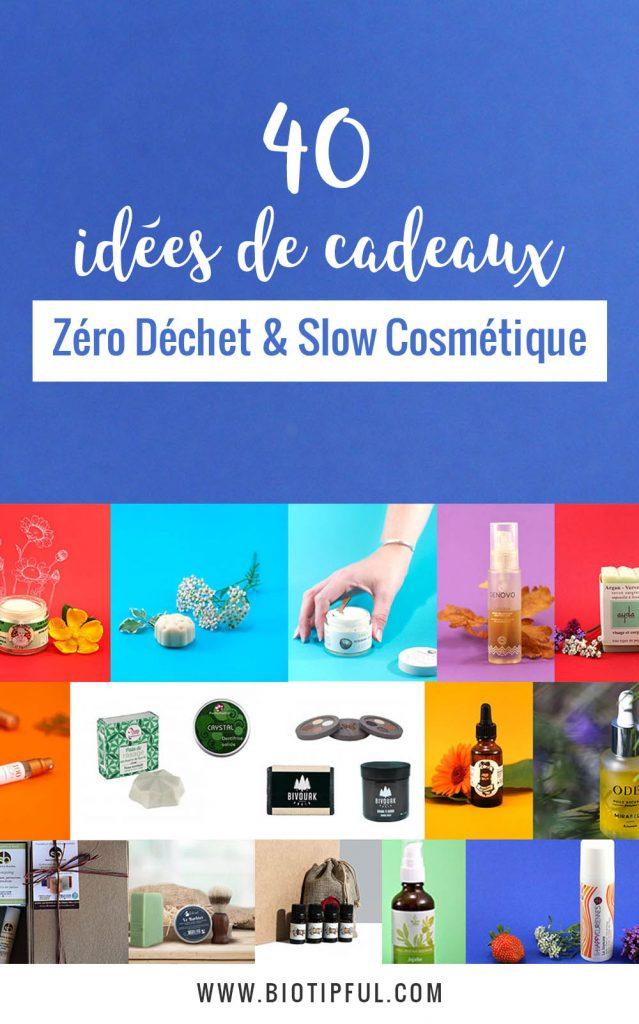 40 idées de cadeaux zéro déchet et slow cosmétique