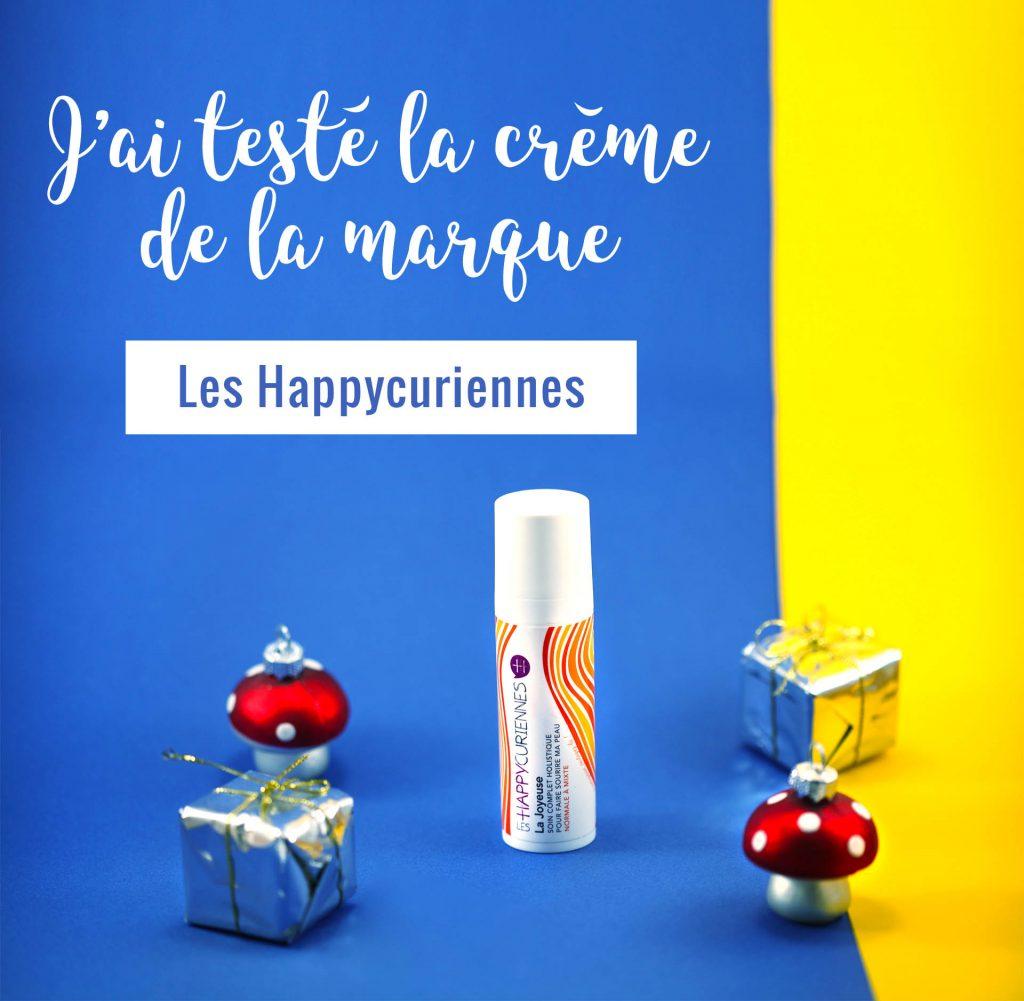 La Joyeuse, crème de la marque Les Happycuriennes