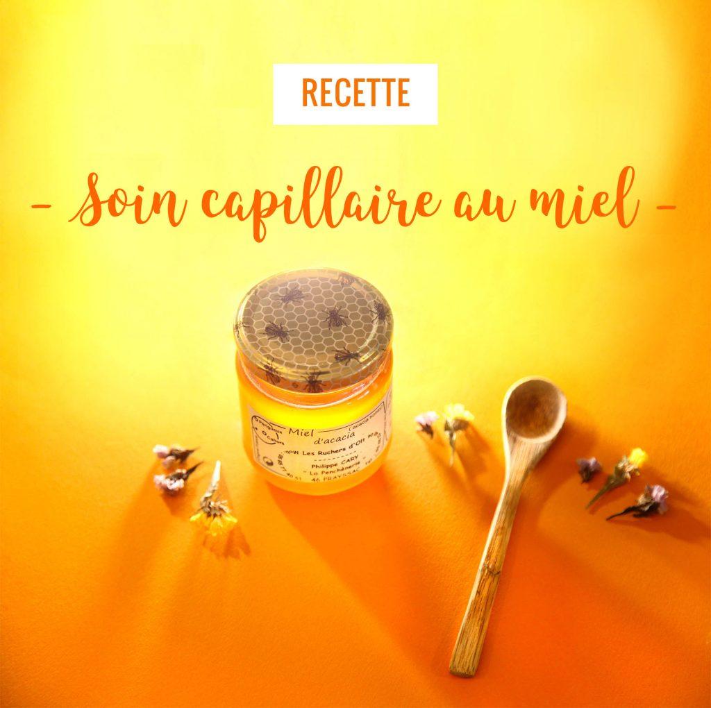 masque capillaire au miel