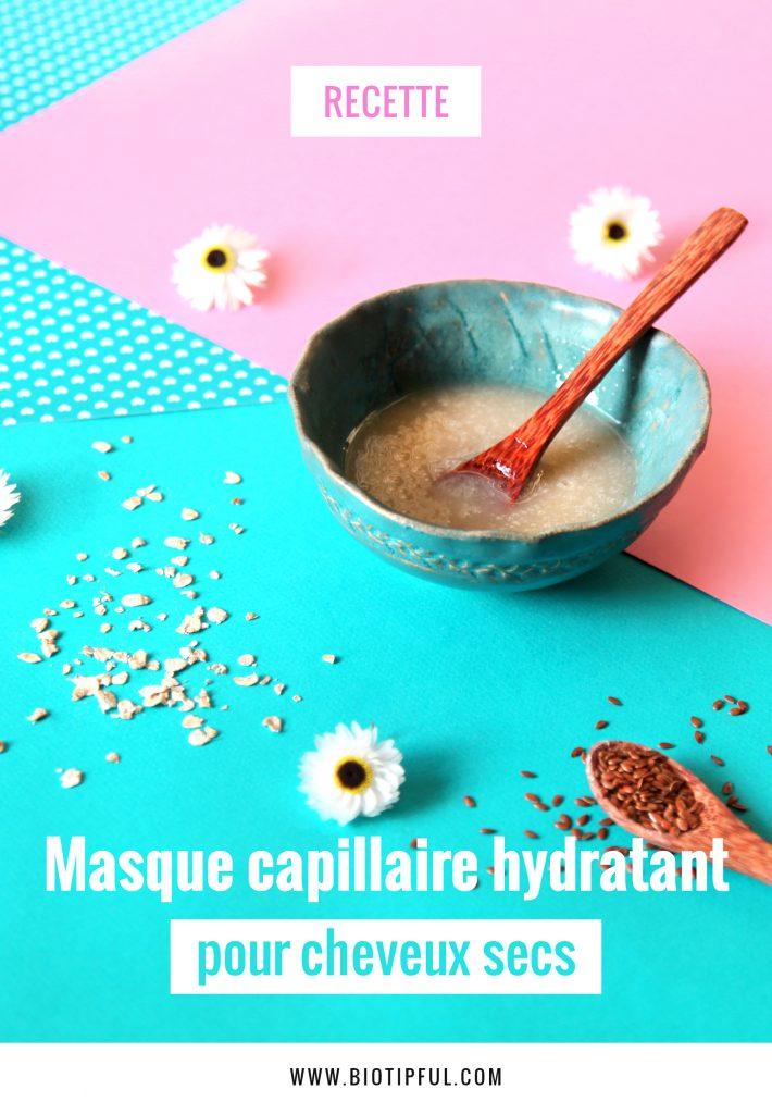 Masque capillaire pour cheveux secs