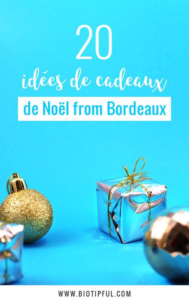 20 idées de cadeaux de Noël made in Bordeaux