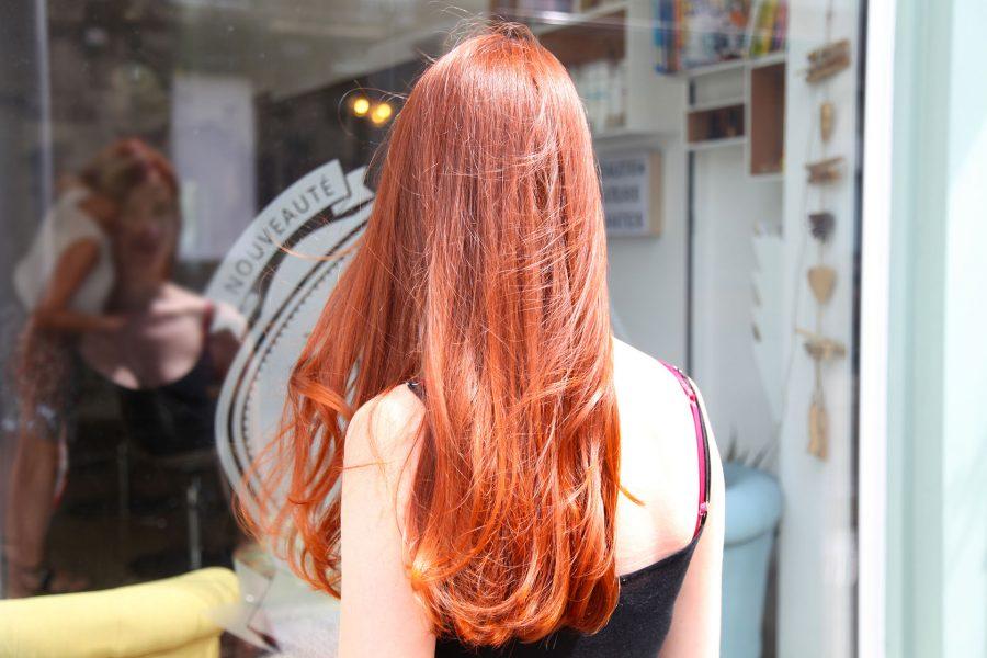 Salon tête en l'hair
