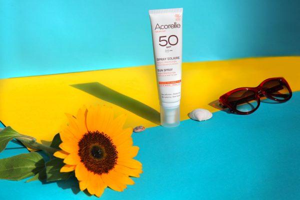Avis crème solaire bio Acorelle